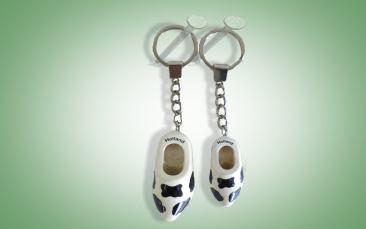 Schlüsselanhänger Kuhmuster Stück