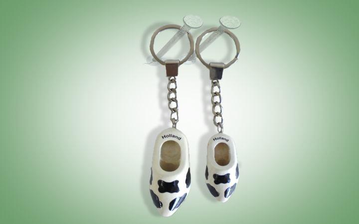 Schlüsselanhänger Kuhmuster