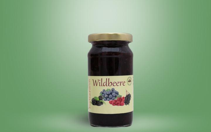 Wildbeere Fruchtaufstrich Glas 235g