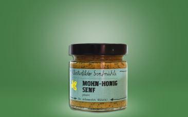 Mohn-Honig-Senf Glas 190ml