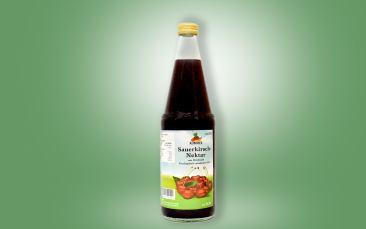 Sauerkirsch-Nektar Flasche 0,7l