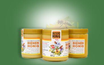 Honig Sommerblüte Glas 500g