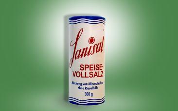 Sanisal Vollspeise-Steinsalz Streuer 300g