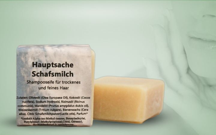 Shampooseife-Schafsmilch 55g