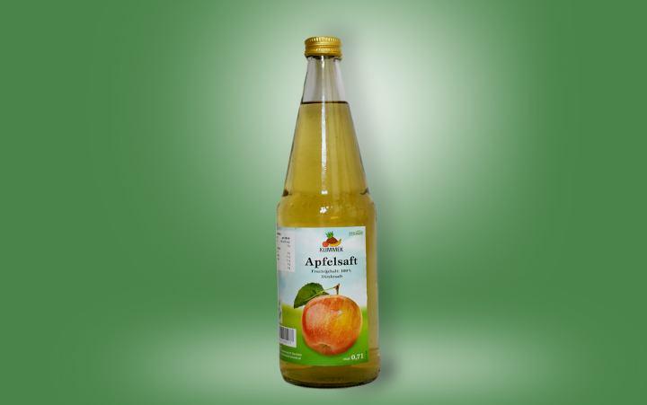 Apfelsaft-klar 0,7l Flasche