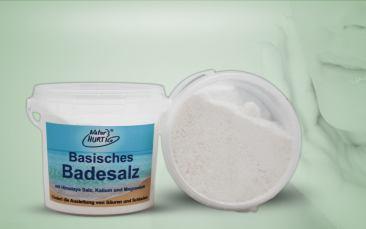 Basisches Badesalz Becher 180g