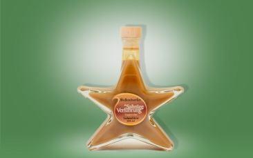 Cappuccino-Likör Sternflasche 0,2l