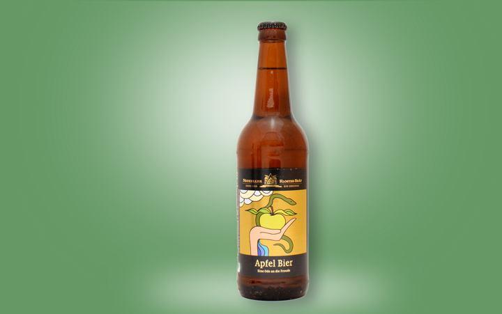Apfelbier (Pilsner + Apfel) Flasche 0,5l