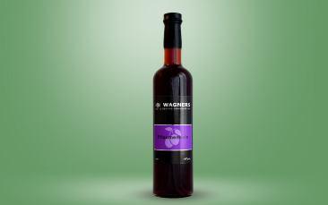 Pflaumenwein (Wagner) Flasche 0,5l