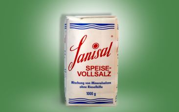 Sanisal Vollspeise-Steinsalz Tüte 1kg