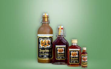 Fegefeuer Kräuterlikör 35%vol. Flasche
