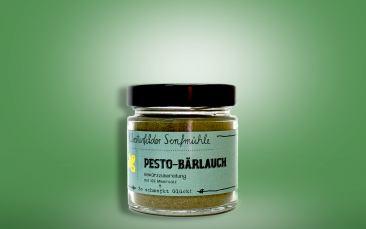 Gewürzzubereitung Pesto-Bärlauch