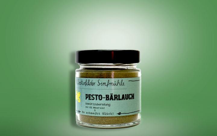 Gewürzzubereitung Pesto-Bärlauch Glas 65g