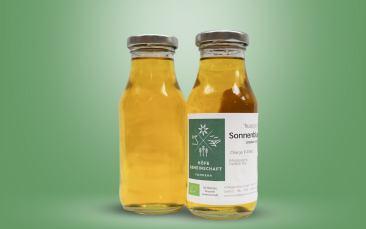 Bio-Sonnenblumenöl Flasche 200ml