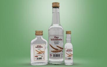Echter Sellendorfer Weizenkorn 32%vol. Flasche