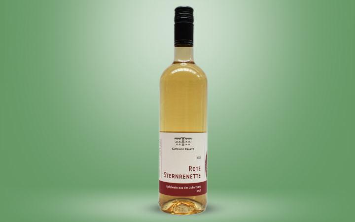 "Apfelwein ""Rote Sternrenette"" Flasche 0,75l"
