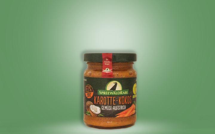 Karotte-Kokos Gemüseaufstrich 135g