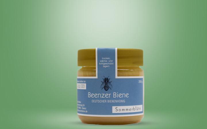 Honig Sommerblüte (Welke) Glas 250g