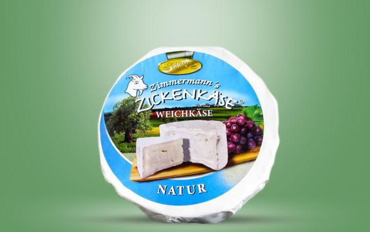 Geißkäse natur (Brietorte)-rund Laib ca.1,25kg
