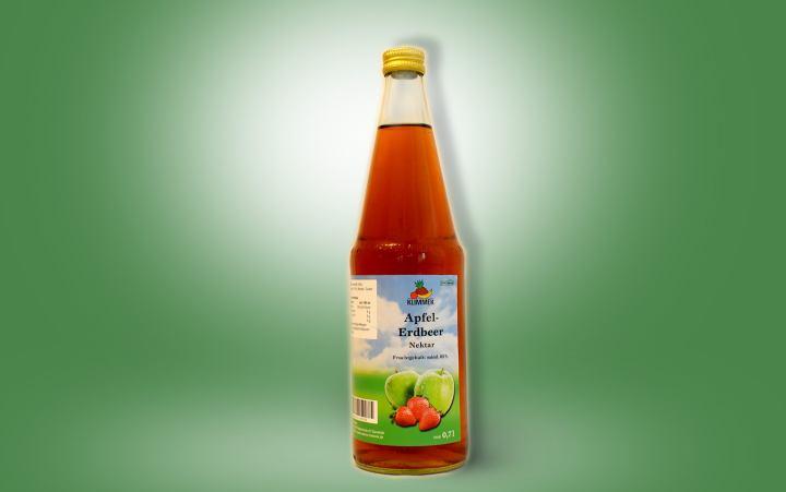 Apfel-Erdbeer-Nektar 0,7l Flasche