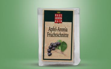Apfel-Aronia-Fruchtschnitte Stück 40g