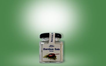 Bambus Salz Glas 50g