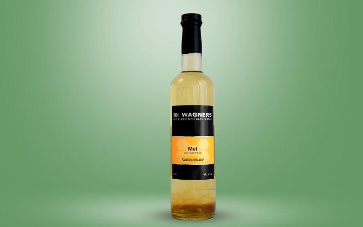 Met Frühlingsblüte Waldmeister Flasche 0,5l