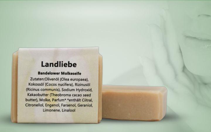 Bandelower Molkeseife-Landliebe 90g