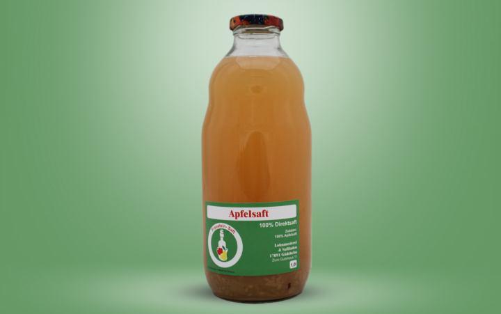 Apfel-Direktsaft Flasche