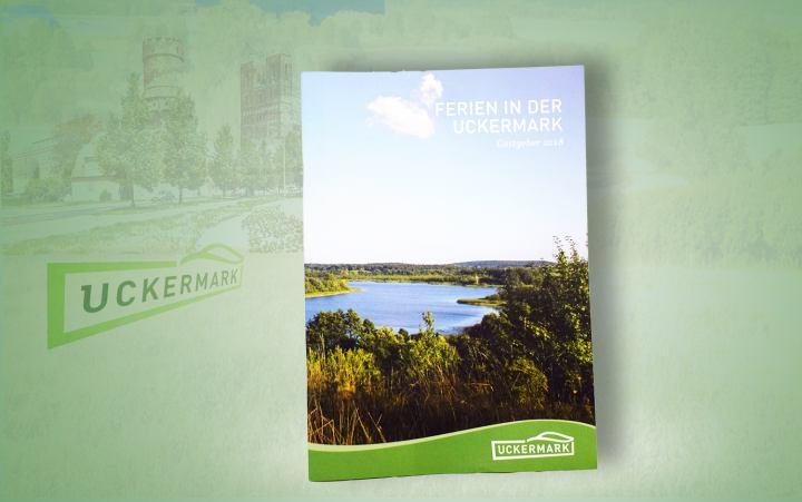 """Broschüre """"Ferien in der Uckermark"""""""