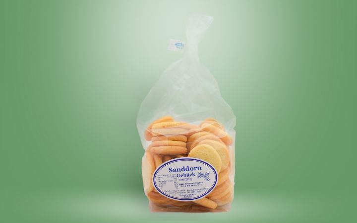 Sanddorngebäck Tüte 200g