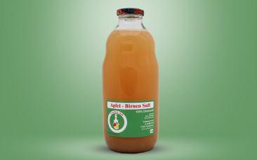 Apfel-Birnen-Direktsaft Flasche