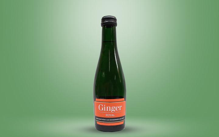 Ginger Royal (Gingerbier + Sekt) Flasche 0,2l
