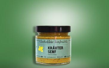 Kräutersenf Glas 190ml