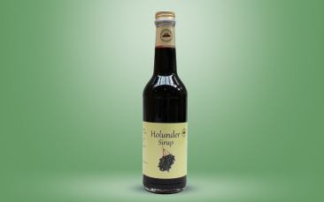 Holunder-Sirup Flasche 0,35l