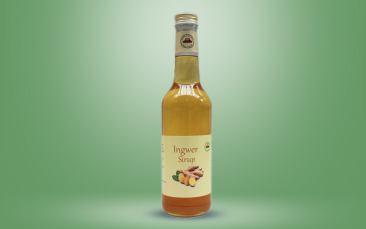 Ingwer-Sirup Flasche 0,35l