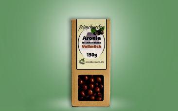Aroniabeeren in Vollmilch-Schokolade