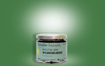 Smoothie-Senf Wildheidelbeere