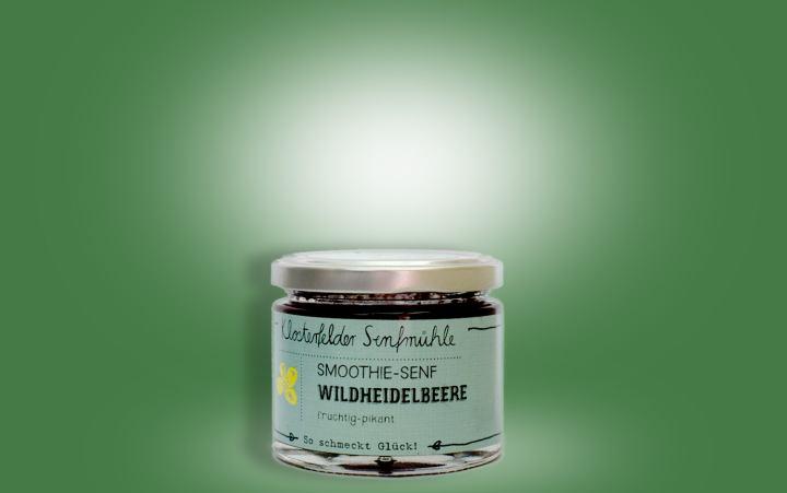 Smoothie-Senf Wildheidelbeere Glas 150g