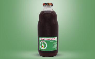 Apfel-Aronia-Direktsaft Flasche