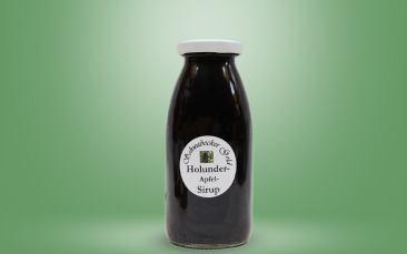 Holunder-Apfel Sirup Flasche 0,25l
