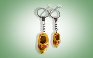 Schlüsselanhänger gelb Stück