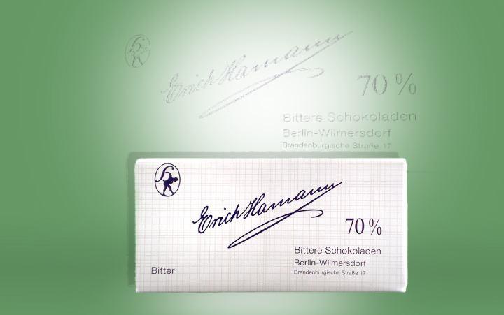 Tafelschokolade Bitter, Kakao 70% 100g