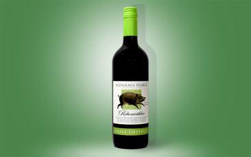 """""""Rebenwühler""""  Rotwein halbtrocken Flasche 0,75l"""