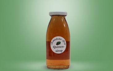 Quitten Sirup Flasche 0,25l