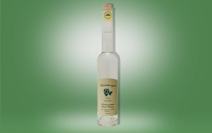 Heidelbeergeist 40%vol. Flasche 0,2l