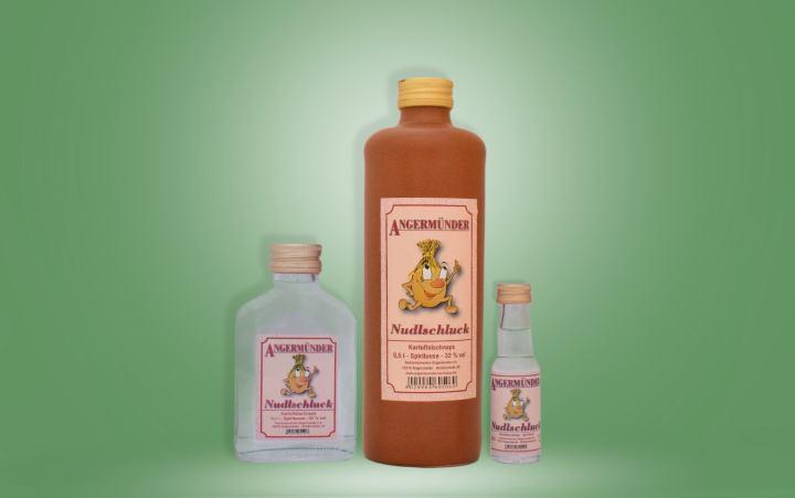 Angermünder Nudlschluck (Kartoffel) 32%vol. Flasche
