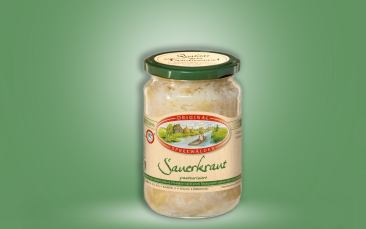 Sauerkraut Glas 370ml