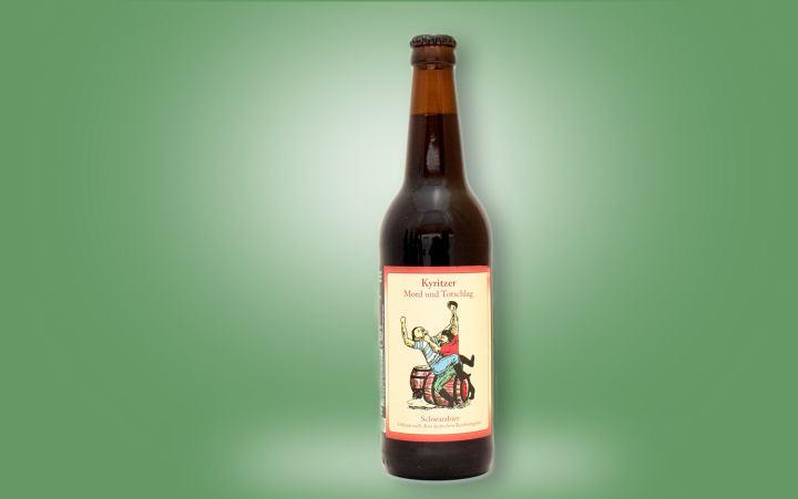 Kyritzer Mord und Totschlag (Schwarzbier) Flasche 0,5l