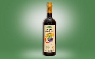 Heißer Holunderwein Flasche 0,75l